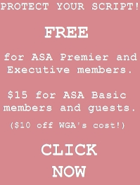 Protect Your Script at American Screenwriters Association